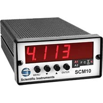 Single-Channel Model SCM-10 Temperature Monitor | Scientific Instruments
