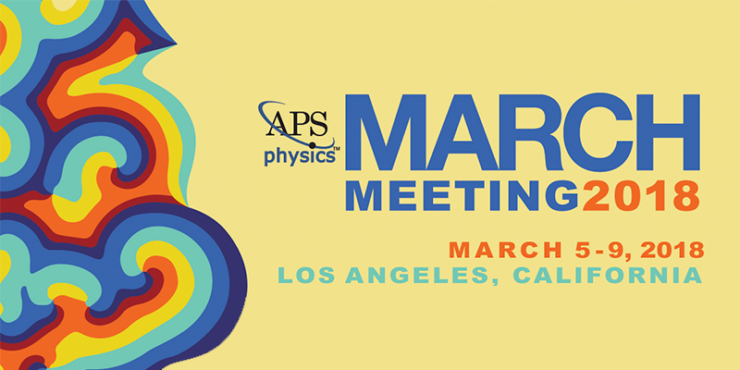 scientific instruments aps physics march meeting